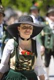 beklär den historiska kvinnan royaltyfria foton