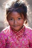 beklär den nationella nevarisståenden för flickan Royaltyfri Fotografi