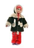 beklär flickan little vintern Royaltyfria Foton