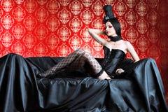 beklär glamourous Fotografering för Bildbyråer