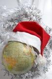 beklär nytt år för gammal värld Arkivbilder