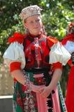 beklär traditionellt barn för dansare royaltyfria bilder