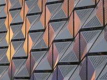 Bekleding van het metaal de moderne metaal royalty-vrije stock afbeelding