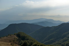 Beklemeto-Bereich, Balkan-Berg Lizenzfreie Stockfotos