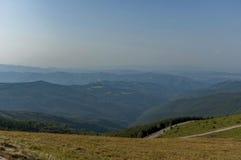 Beklemeto-Bereich, Balkan-Berg Stockbild