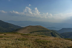 Beklemeto-Durchlaufstraße, Balkan-Berg Lizenzfreies Stockfoto
