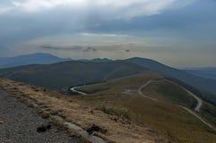 Beklemeto-Durchlaufstraße, Balkan-Berg Stockfoto
