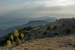 Beklemeto-Durchlaufstraße, Balkan-Berg Lizenzfreie Stockbilder