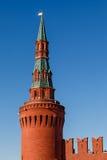 Beklemishevskaya (Moskvoretskaya) Toren van het Kremlin royalty-vrije stock foto