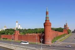 Beklemishevskaya Tower in the Kremlin. Beklemishevskaya Tower in the Moscow Kremlin Royalty Free Stock Photos