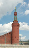 Beklemishevskaya Tower of Moscow Kremlin Stock Photo