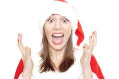 Beklemtoonde Kerstmis Royalty-vrije Stock Foto