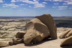 Bektau ata, wymarły wulkan w Kazachstan Zdjęcie Stock