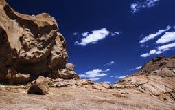 Bektau ata, wymarły wulkan w Kazachstan Obrazy Stock