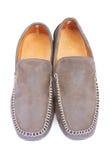 bekväm manlig sko Royaltyfria Bilder