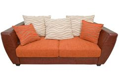 bekväm sofa Arkivbild
