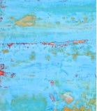 Bekymrad blå bakgrund Arkivbilder