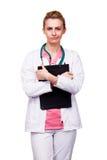 Bekymrad läkare Arkivfoton