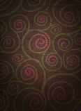 bekymrade blom- spiral Royaltyfri Foto