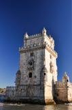 Belém-Turm, Lissabon, Portugal stockbilder