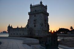 Belém-Turm, Torre de Belém stockfotos