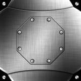 Belägga med metall Fotografering för Bildbyråer