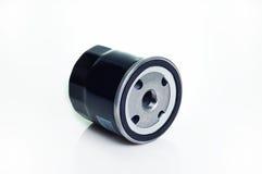 Belägga med metall olja filtrerar Fotografering för Bildbyråer