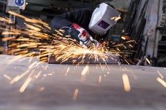 Belägga med metall hantverket Royaltyfria Foton