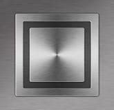 Belägga med metall knäppas Arkivfoto