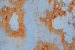 Belägga med metall rostbakgrund, belägga med metall rosttextur, rosta, förfalla metallbakgrund Royaltyfria Bilder