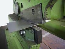 Belägga med metall sax med tin Arkivbild