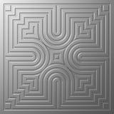 Belägga med metall texturerar Arkivfoto