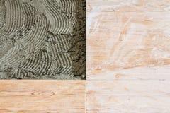 Belägga med tegel för golv Arkivbild