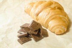 Belägger med tegel choklad med en giffel Royaltyfria Bilder