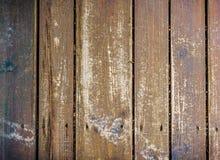 Belägger med tegel det gamla skrivbordet för naturlig Wood textur plankor däckar hårt tappningmor Arkivfoto