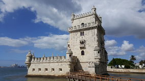 Belém Tower. Picture of the Belém Tower royalty free stock photo