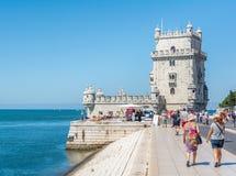 Belém Tower in Lisbon, Portugal royalty free stock photo
