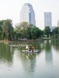 Belüftungsanlage im Stadtpark Stockfoto