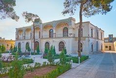 Bel édifice de Yazd image stock