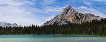 Bel été de montagne augmentant des vues Photo stock