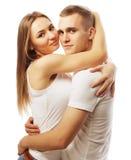 bel étreindre heureux de couples Photo stock