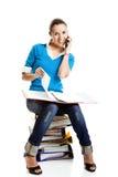 Bel étudiant féminin Image stock