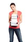 Bel étudiant universitaire photos stock