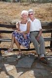 bel aîné de couples Photo libre de droits