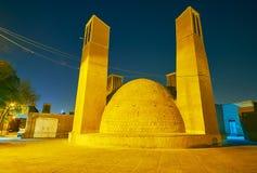 Bel ab Anbar dans vieux Yazd Image stock