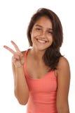 Bel adolescent Photos libres de droits