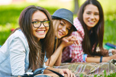 Bel adolescent Image libre de droits