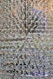 Bel affichage en verre de lustre Photographie stock libre de droits