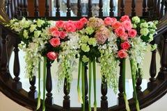 Bel agencement de fleurs Photos stock