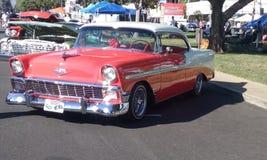 1956 Bel Air Chevrolet Royalty-vrije Stock Afbeeldingen